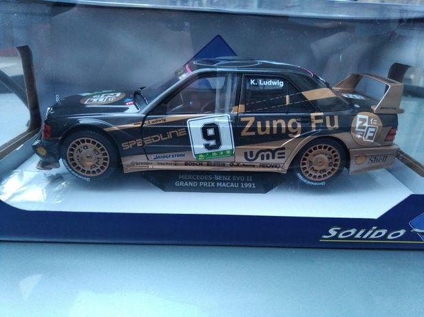 Mercedes-Benz 190E Evo II #9 Macau Grand Prix 1991 Ludwig 1:18 Solido