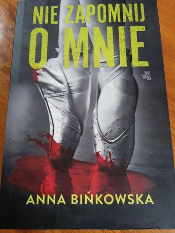 Nie zapomnij o mnie Anna Bińkowska