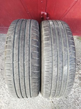 Dwie opony Continental ContiEcoContact5 215/60/17 96H