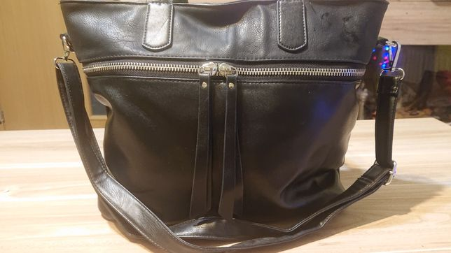 torebka czarna duża