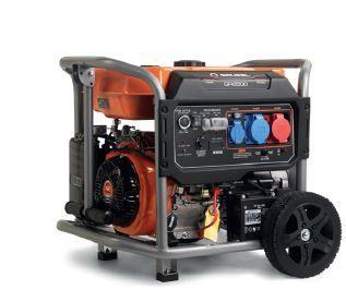 Gerador 7KVA GRUPEL 380V Gasolina Arranque Automático c/ Comando