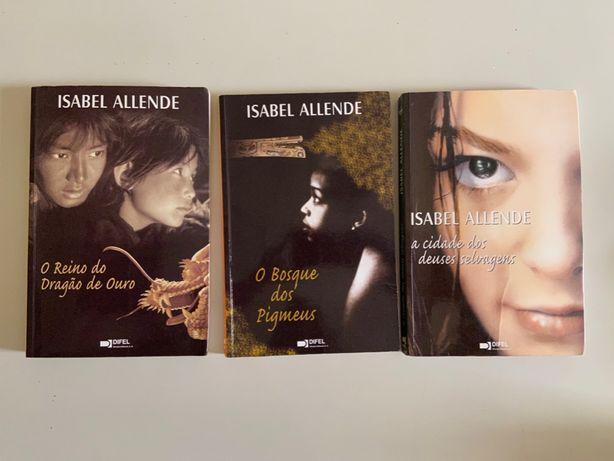 Livros Isabel Alhende
