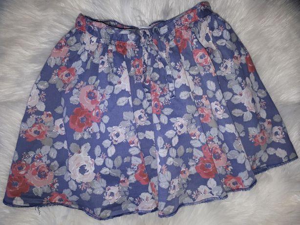Next spódniczka w kwiatki 116cm