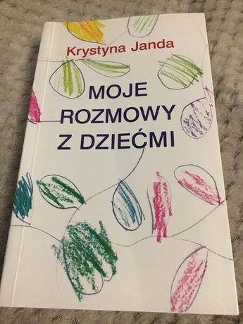 Krystyna Janda - Moje rozmowy z dziećmi. Książka z autografem!