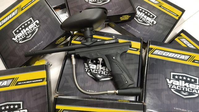 5x Nowy KPL Paintball Valken Cobra V-TAC Butla Co2 12oz 120kulek 50cal