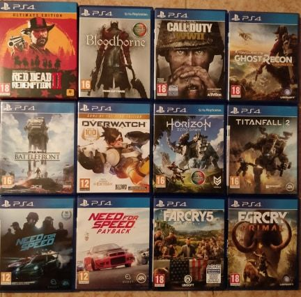Jogos PlayStation 4 (Diversos)