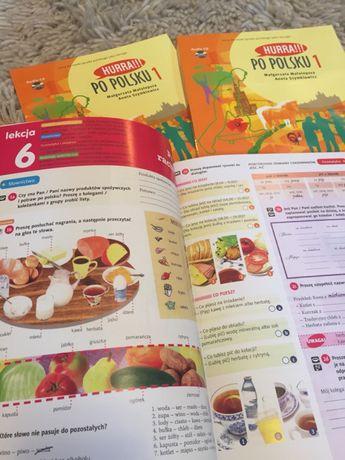 Учебник HURRA PO POLSKU - А1 оригинал , цветная . Польский язык .