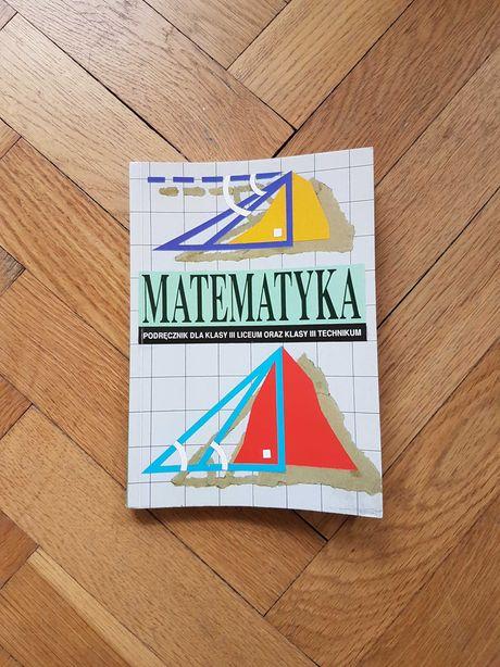 matematyka podręcznik dla klasy III liceum oraz technikum cegiełka prz