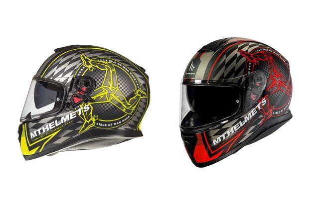 Capacete Mt Helmets Thunder 3 Isle Of man (2 cores)