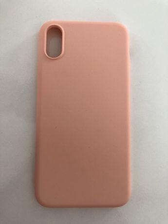 Capa para IPhone X cor de rosa NOVA
