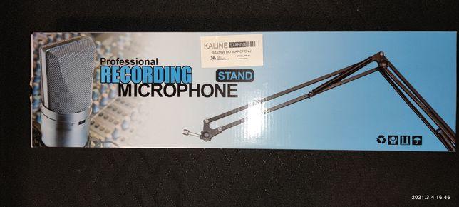 Statyw do mikrofonu + uchwyt (gniazdo) na mikrofon