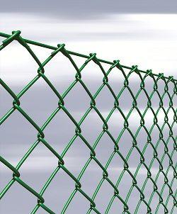 Сетка рабица с покрытием ПВХ / Сітка рабиця з покриттям ПВХ
