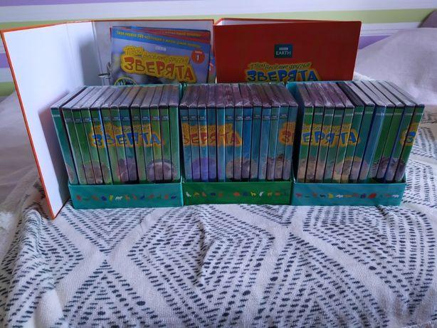 Коллекция дисков и журналов DeAgostini Твои веселые зверята