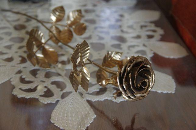 Роза кованая металл