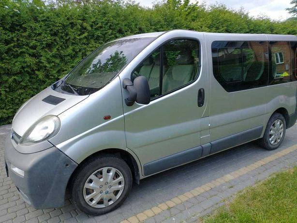 Opel Vivaro / 9 osobowy / klimatyzacja -  Lublin