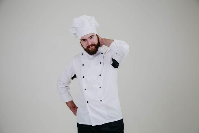 Китель шеф-повара | Колпак поварской | Кітель повара | Ковпак кухаря