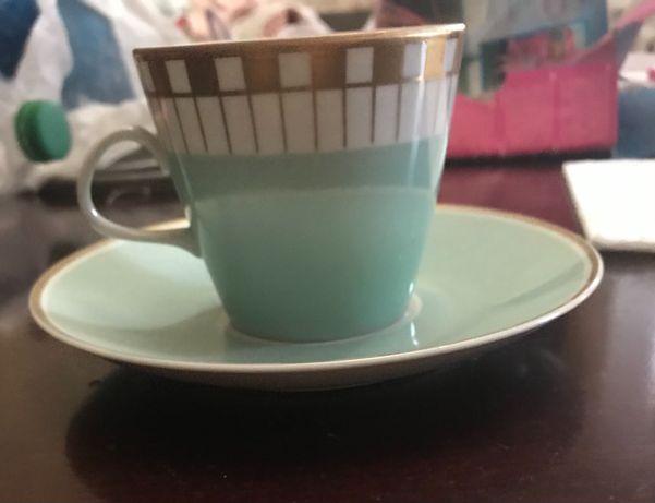 Чайная пара Lichte костяной фарфор