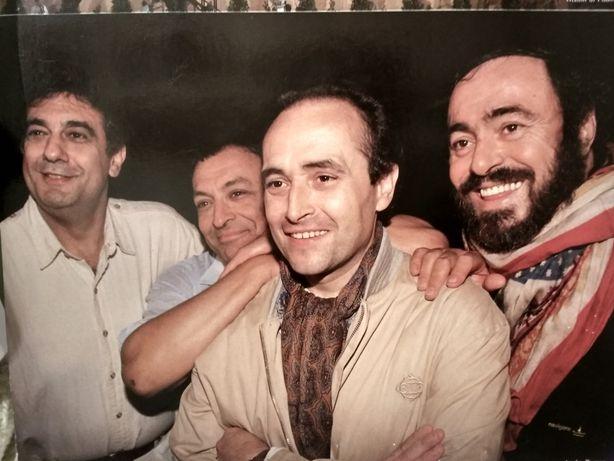 Płyta winilowa Carreras Domingo Pavarotti