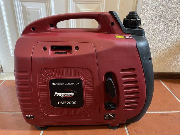 Gerador inverter Pramac Powermate 2000w