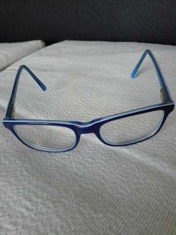 Óculos graduados 1,25 em cada olho e armação. Marca pepe Jeans c/caixa