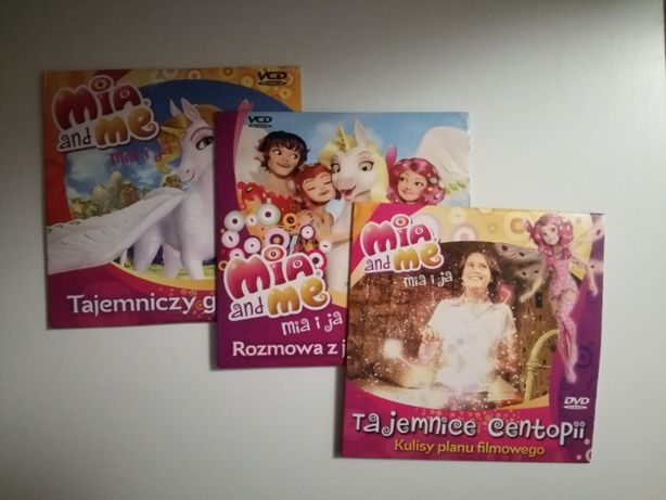 3 płyty DVD Mia i ja