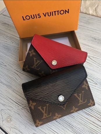 Кошелек женский мини кошелек кожаный кошелек Louis Vuitton женский