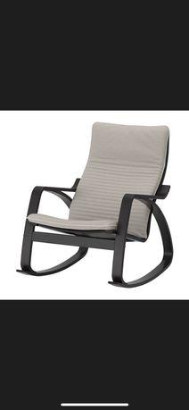 Fotele 2 szt i podnożek ikea paong