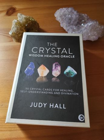The Crystal wisdom Oracle deck by Judy hall