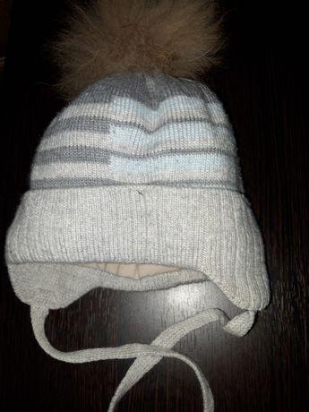 Зимняя шапочка на ребенка