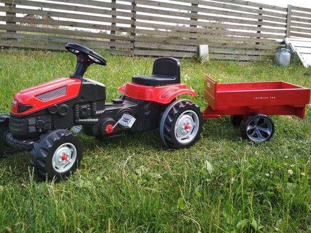 Трактор на педалях з прицепом новый