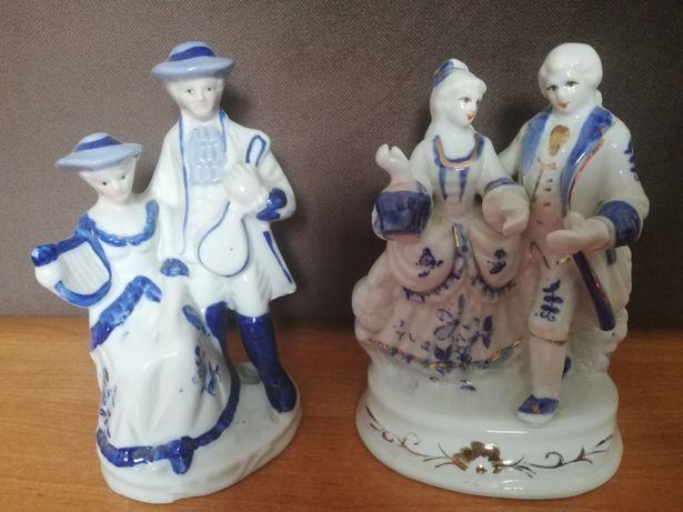 Figurki z porcelany