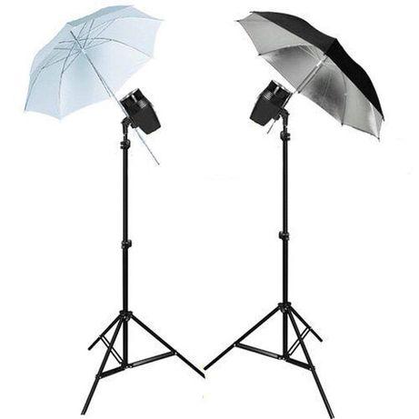 Набор студийного импульсного света FST EG-180KA+ зонти