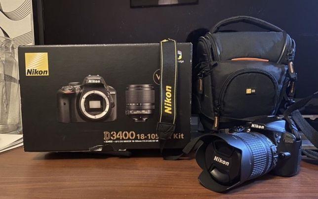 Sprzedam Aparat Nikon D3400