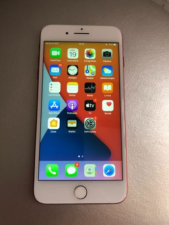 iPhone 7 Plus vermelho