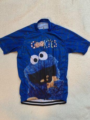 Ciasteczkowy potwór koszulka na rower dla dziecka junior