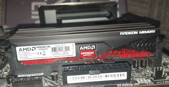 AMD Radeon R9 Gamer DDR4 3200MHz 32GB Kit 2x16GB (R9S432G3206U2K)