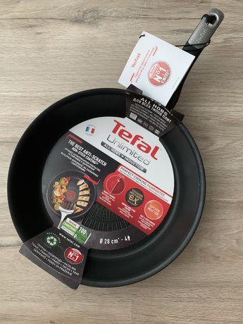 Сковорода Tefal Unlimited 28 см