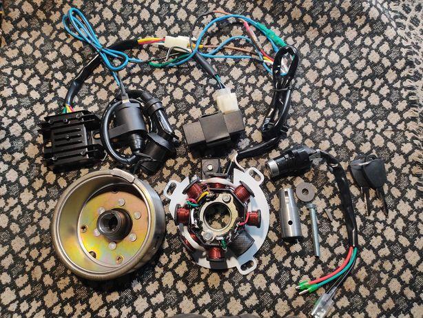 CDI электронное зажигание генератор на Минск Восход