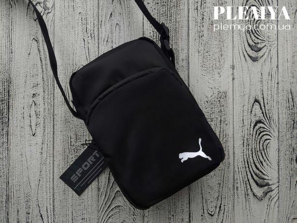 Сумка Puma через плечо / Мужская Сумка / бананка найк барсетка Nike