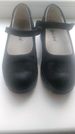 Замшевые туфли на девочку