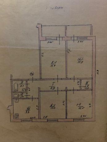 Умань, 4х комнатная квартира ДОСы