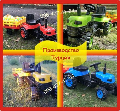 Трактор на педалях с прицепом | Педальный трактор | Турция