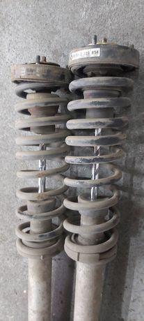 BMW E39 amortyzatory sprężyny tył suche