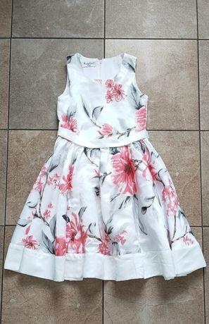 Sukienka wizytowa jak nowa na 152-158 ok. 12 lat