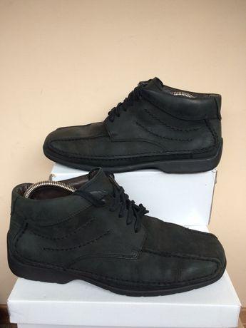 Gabor comfort Кожаные теплые ботинки кроссовки 42 43р