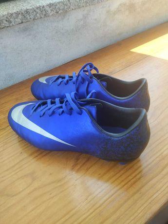 Chuteiras Nike Mercurial CR7 Blue Space