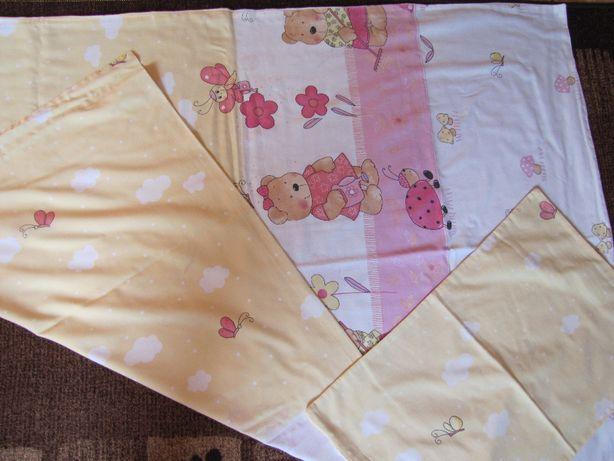 Pościel do łóżeczka dla dziewczynki Feretti zestaw 2 komplety pościeli