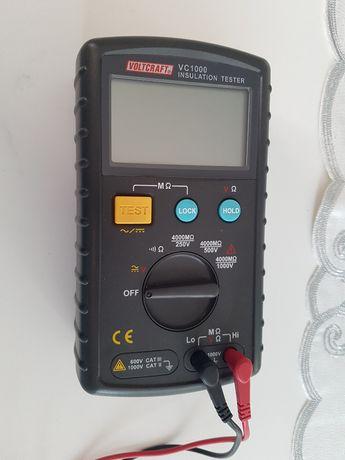 VOLTCRAFT VC1000 Insulation Tester Piękny