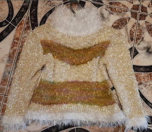Детский теплый свитер