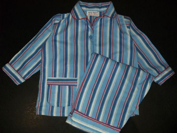 Пижама теплая на 18-24м 2года